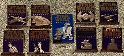 Star Wars Weekends 2001 - Complete Set Of 8 Le 2001 Pin Collection And Logo Pin
