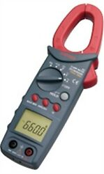 Sanwa Dcm660r Clamp Meters Ac+true Rms Electric Work And Air Conditioning New Bv
