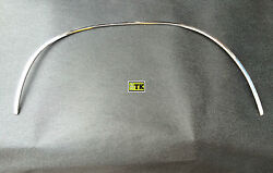 New Vauxhall Manta A Wheel Scroll Bar Moulding Thread Front Left Chrome Steel