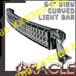 Oracle 54 Inch Curved Off-road Cree Led Light Bar 312w Spot And Flood Optics