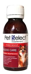 2 x 100 cc Pet Select FERRO-BOOST is a vitamin that provides blood after birth