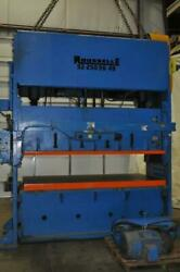 250 TON ROUSSELLE SSDC PRESS 6″ STROKE 23″ SHUT HEIGHT ON TAG 26″ ACTUAL SHUT HE