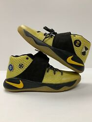 NIKE KYRIE 2 ALL STAR GAME PATCH UNRELEASED 835943-307 CELERYMAIZEBLACK Y5