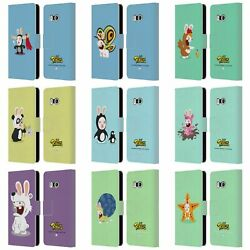 OFFICIAL RABBIDS COSTUMES LEATHER BOOK WALLET CASE FOR HTC PHONES 1