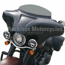 Batwing Fairing Harley Davidson 94-17 Softail Deluxe 4x5.25 + Pmx2 Stereo