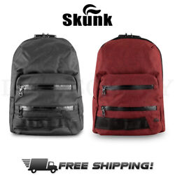 Skunk MINI Backpack Smell Proof Odor Proof Stash Bag w Combo Lock ALL COLORS $50.15