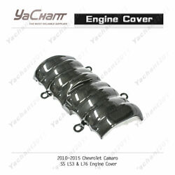 Dry Carbon Kit For 2010-2015 Chevrolet Camaro Ss Ls3 And L76 Engine Cover