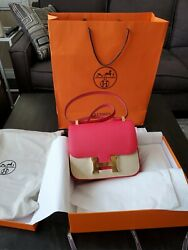 HERMES CONSTANCE RED BRAND NEW! AUTHENTIC Size 24