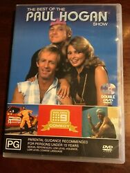 THE BEST OF THE PAUL HOGAN SHOW Good Condition 2 DVDs R All PAL