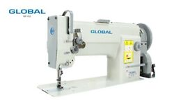 Industrial Walking Foot Sewing Machine Global Wf955 Including Stand And Motor 220v