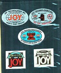 Huge Lot Of 200 Different Good Vendors Lee Norse..jeffrey Coal Mining Stickers