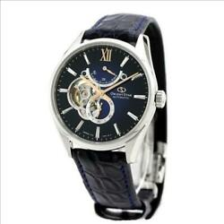 Orient Star Menand039s Automatic Winding Open Heart Contemporary 41mm Jbbj1c Japan