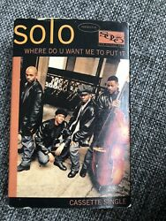 Solo Where Do U Want Me To Put It Cassette Tape