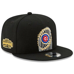NEW ERA Chicago Cubs 9FIFTY World Series Champions Trophy Snapback Hat Cap MLB