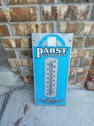 Old Advertising Pabst Beer Thermometer