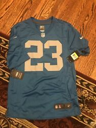 Darius Slay Detroit Lions Mens Small Jersey Throwback Rare On Field Nike New