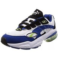 Sneakers Size 11 Mens Running Tennis Shoes Cell Venom White Surf Blue Mesh