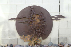 1970's Early Work Of John Richen Hanging Wall Sculpture Large 36 X 55