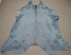Extra Large Brazilian Dyed Ash Tone Cowhide Rug 8.8x 6.10 Ft -3146