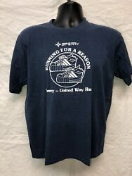 Sperry Flight Systems United Way Vintage Shirt Single Stitch Fine R And D Xl
