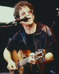 Lou Reed And Lou Reed In Concert Pose Playing Guitar 16x20 Canvas Giclee