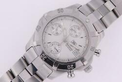 Tag Heuer 2000 Exclusive Chronograph Cn-2110-0 Stainless Steel Automatic Watch