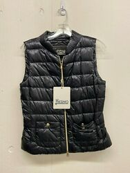 New W/ Tags Herno Womenand039s Classic Vest Model Pi0482d Pick Your Size And Color