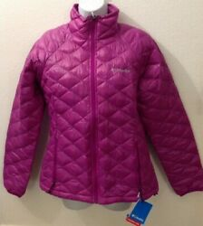 NWT - Womens M Columbia Post Thermal Coil Puffer Jacket Quilted Insulated Pink