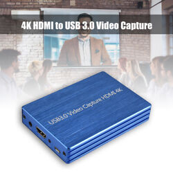 4k Hdmi To Usb 3.0 Video Capture Card Dongle 1080p Hd Hdmi Video Recorder