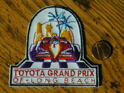 Indy/cart Long Beach Track/event Patch.....rare