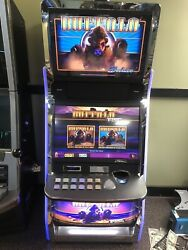 ARISTOCRAT MK7 BUFFALO SLOT MACHINE WITH LED BUTTON PANEL. WMS, BALLY AVAILABLE