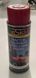 New Vintage 1980's Van Sickle Industrial Spray Paint Gloss Case Ih Red Full Can