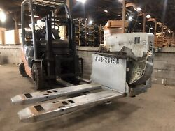 """Hy-2044761 Frame And Fork 48"""" Hyster W80z Pallet Jack Parts Good Used"""