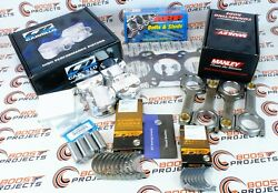 Cp Pistons Manley Rods Cometic Gasket Arp Head Studs Acl Bearings For B18c5 Vtec