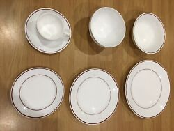 200 X 7 Piece Set Acropol Banqueting/catering China Crockery