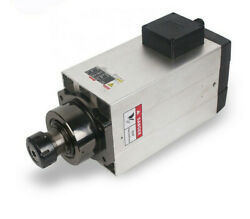 Iso-9001 Certificated 12kw High Torque Manual Tool Change Spindle Motor