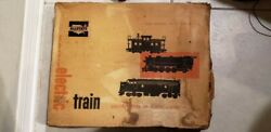 Marx Sears Allstate Electric Train Set No.9816 With Box Vintage Untested