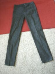 Gucci Made in Italy Straight Slim Leg Stretch Cotton High Rise Pants Size 42 EUC $89.99