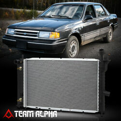 Fits 1992-1994 Ghia/Tempo/Topaz 2.3/3.0 AT Aluminum Factory Replacement Radiator