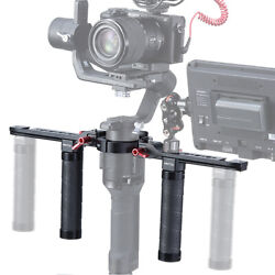UURig Adjustable Extended Dual Handle Grip For DJI Ronin SSC Gimbal Stabilizer