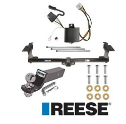 Reese Trailer Tow Hitch For 05-10 Honda Odyssey Complete W/ Wiring And 2 Ball