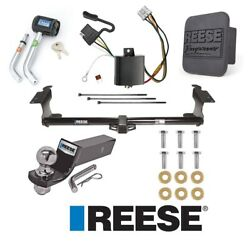 Reese Trailer Tow Hitch For 05-10 Honda Odyssey Deluxe Wiring 2 Ball And Lock