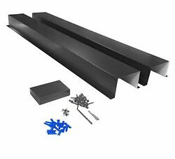Metal Line Set Cover Kit For Mini Split And Central Air Conditioner And Heat Pump