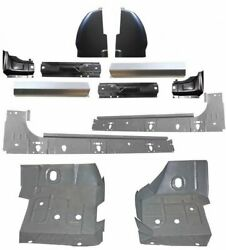1999 17 12pc Rockers Cab Corners Floor Pans Jamb Ford Super Duty Extended Cab