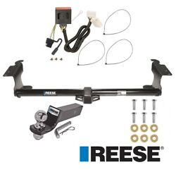 Reese Trailer Tow Hitch For 11-17 Honda Odyssey Complete W/ Wiring And 2 Ball