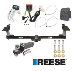 Reese Trailer Tow Hitch For 11-17 Honda Odyssey Deluxe Wiring 2 Ball And Lock