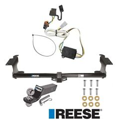 Reese Trailer Tow Hitch For 99-04 Honda Odyssey Complete W/ Wiring And 2 Ball