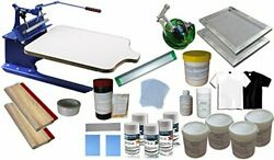 Intbuying Universal Silk Screen Printing Kit Used For Printing 1 Color T-shirt