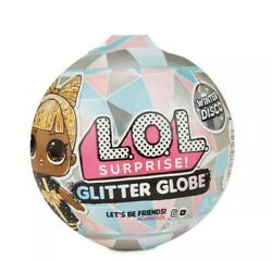Lol Surprise Hairvibes And Winter Disco Glitter Globe - Set Of 2 Dolls Ships Today