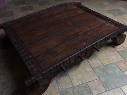 Rose Wood Antique Coffee Table